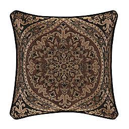 J. Queen New York™ Jordan Square Throw Pillow in Chocolate