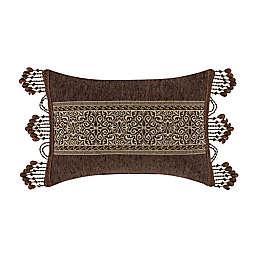 J. Queen New York™ Jordan Oblong Throw Pillow in Chocolate