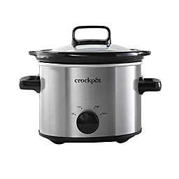 Crockpot™ 2-Quart Slow Cooker, Stainless Steel