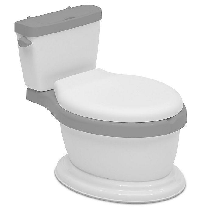 Alternate image 1 for Delta Children Kid Size Toddler Potty in White/Grey