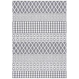 Safavieh Cabana Cooper Indoor/Outdoor Rug in Grey/Ivory