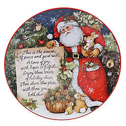 Certified International Magic of Christmas 12-Inch Pass-Along Serving Plate