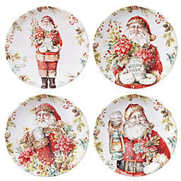 Certified International Our Christmas Story Dessert Plates (Set of 4)