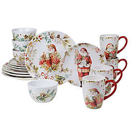 Certified International Our Christmas Story 16-Piece Dinnerware Set