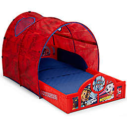 Delta Children® PAW Patrol™ Sleep and Play Toddler Bed with Tent in Red