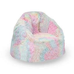 Delta Children® Snuggle Foam Filled Toddler Chair in Pink/Blue