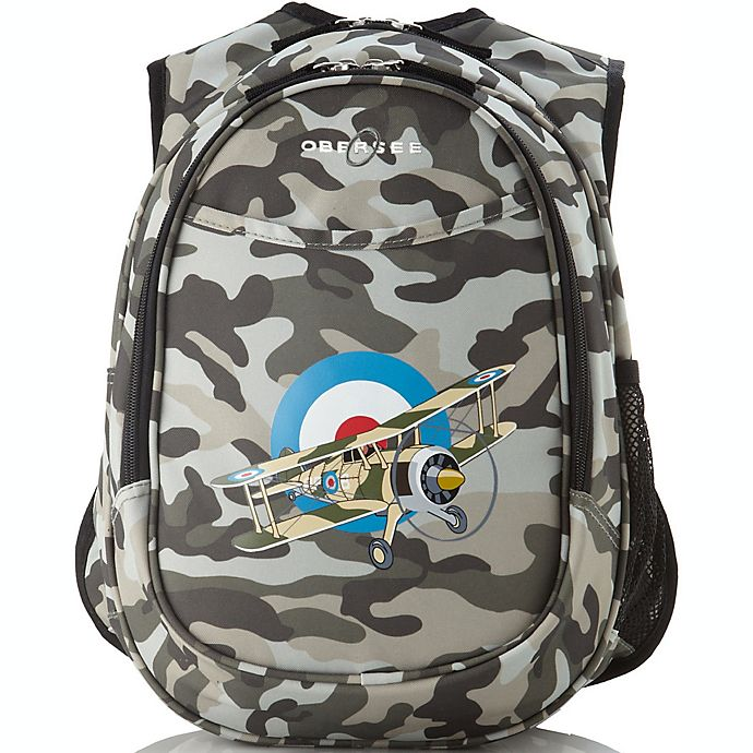 Alternate image 1 for O3 Kids All-in-One Backpack with Cooler in Camouflage Plane
