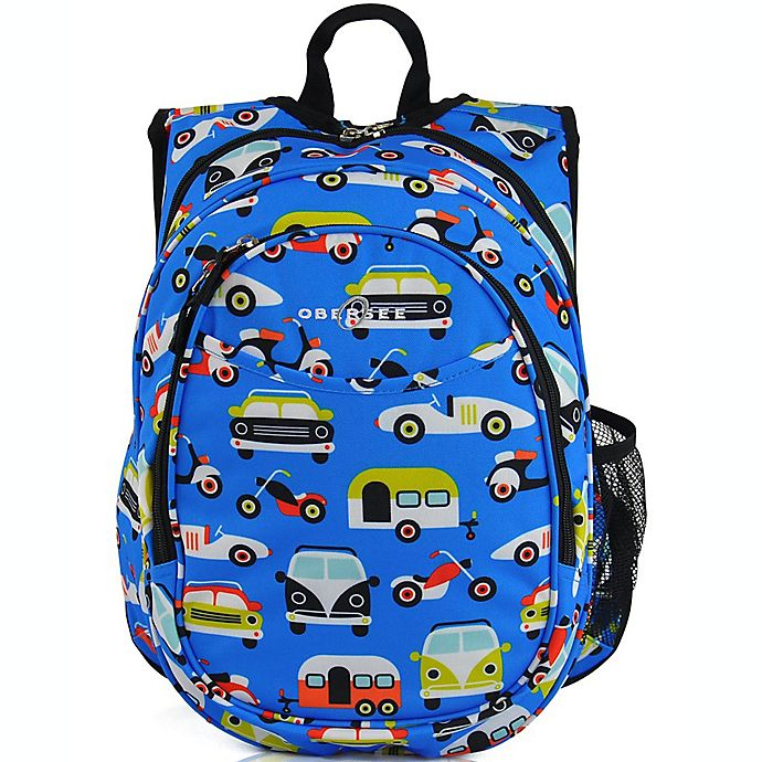Alternate image 1 for Obersee Pre-School All-In-One Transportation Backpack with Cooler in Blue
