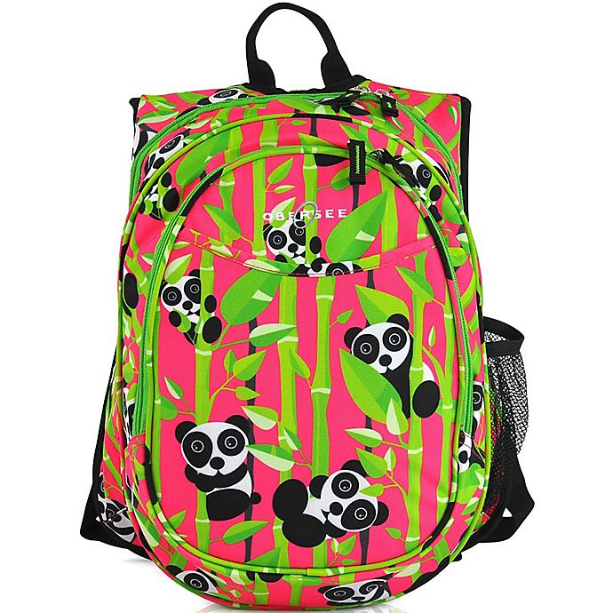 Alternate image 1 for Obersee Preschool All-in-One Backpack for Kids with Insulated Cooler in Panda