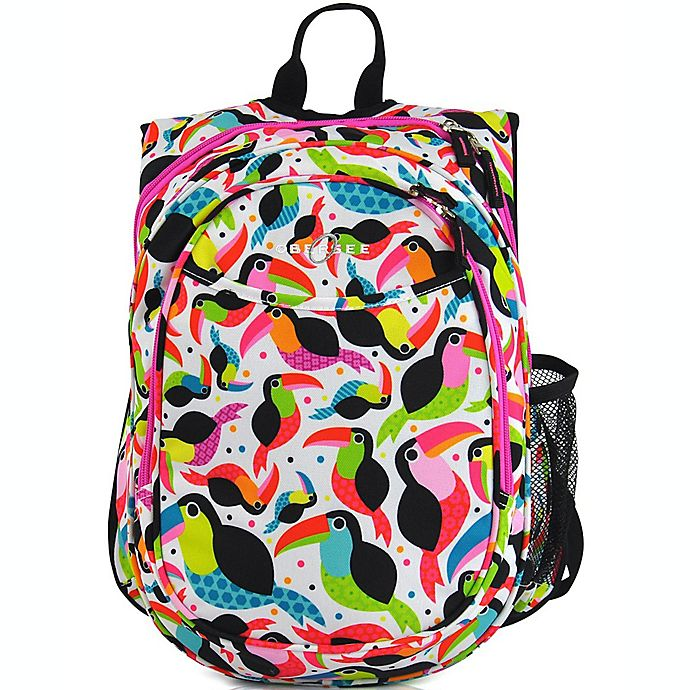 Alternate image 1 for Obersee Pre-School All-In-One Toucan Backpack with Cooler in Multicolor