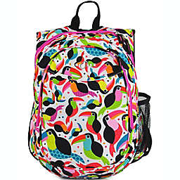Obersee Preschool All-in-One Backpack for Kids with Insulated Cooler in Toucan