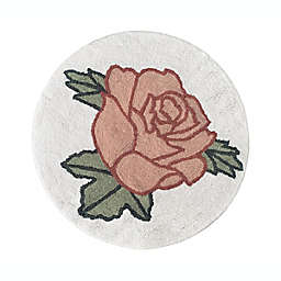 """Sweet Jojo Designs® Vintage Floral 30"""" Round Rug in Pink/Green"""
