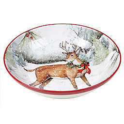 Certified International™ Winter Forest Serving Bowl