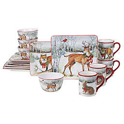 Certified International™ Winter Forest Tableware Collection