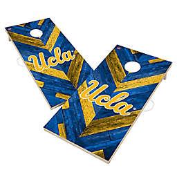 University of California, Los Angeles Bruins Herringbone Cornhole Set