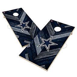 NFL Dallas Cowboys Herringbone Cornhole Set