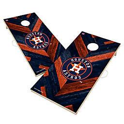 MLB Houston Astros Herringbone Cornhole Set