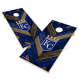 MLB Kansas City Royals Herringbone Cornhole Set