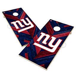 NFL New York Giants Herringbone Cornhole Set