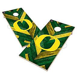 University of Oregon Ducks Herringbone Cornhole Set
