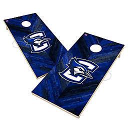 Creighton University Bluejays Herringbone Cornhole Set
