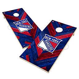 NHL New York Rangers Herringbone Cornhole Set