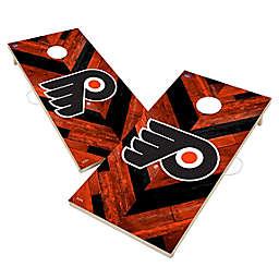 NHL Philadelphia Flyers Herringbone Cornhole Set