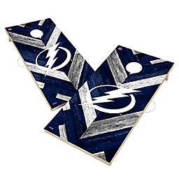 NHL Tampa Bay Lightning Herringbone Cornhole Set