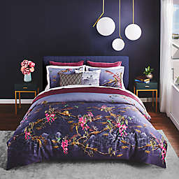 Ted Baker London Hibiscus 3-Piece Duvet Cover Set