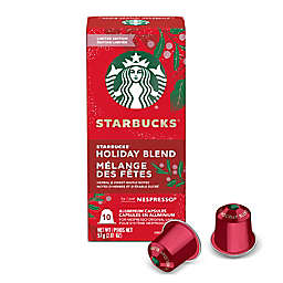 Starbucks® by Nespresso® Holiday Blend Coffee Capsules 10-Count