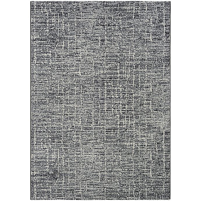Alternate image 1 for Couristan® Easton Gravelstone 6'6 x 9'6 Area Rug in Pewter