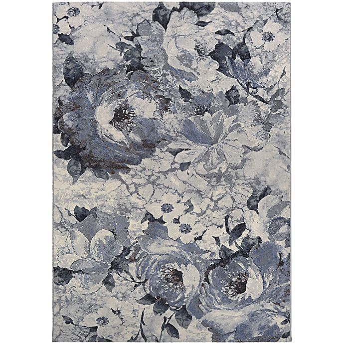 Alternate image 1 for Couristan® Easton Bountiful 7'10 x 11'2 Area Rug in Pewter