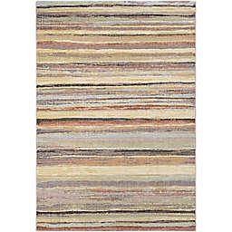 Couristan® Easton Vibe 5'3 x 7'6 Area Rug in Neutral/Multi