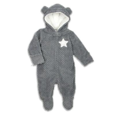 Modern Baby® Size 3M Grey Dots with Stars Pram