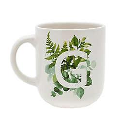 "Bee & Willow™ Botanical Monogram Letter ""G"" Coffee Mug"