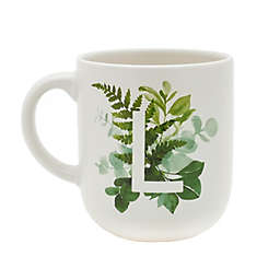 "Bee & Willow™ Home Weston Botanical Monogram Letter ""L"" Coffee Mug"