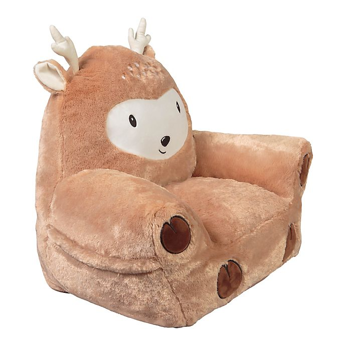 Alternate image 1 for Trend Lab® Deer Plush Character Chair in Tan