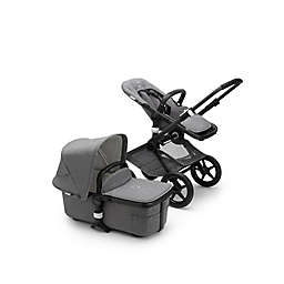 Bugaboo® Fox2 Classic Complete Single Stroller in Black/Grey