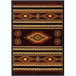 United Weavers Native Canvas Area Rug
