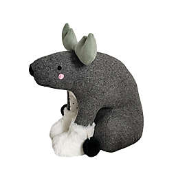 Elements Moose Door Stopper in Grey