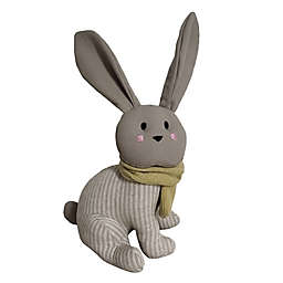 Elements Rabbit Door Stopper in Grey