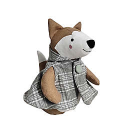 Elements Fox Door Stopper in Brown