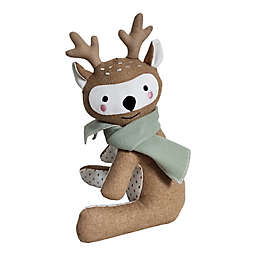 Elements Deer Door Stopper in Brown