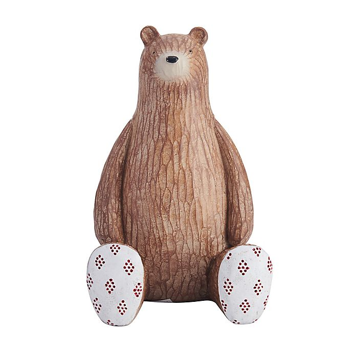Alternate image 1 for Elements Bear Bookend