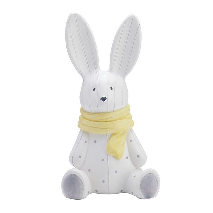 Alternate image 1 for Elements Ceramic Bunny Piggy Bank in Grey