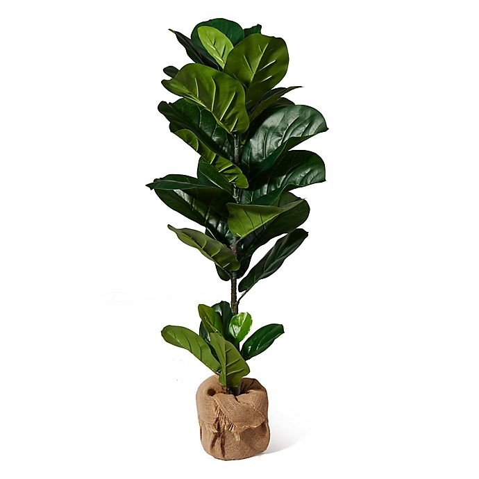 Alternate image 1 for Elements 43-Inch Artificial Fiddlehead Ficus Tree