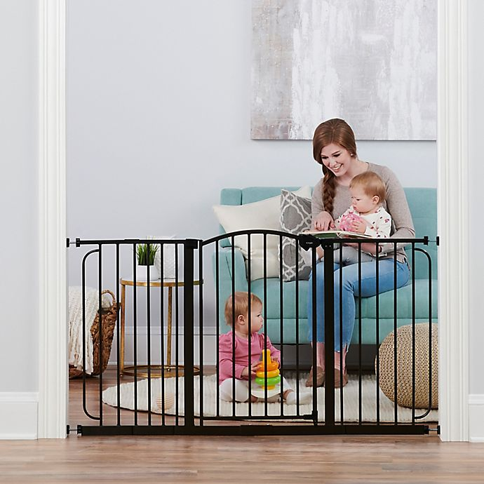 Alternate image 1 for Regalo Home Accents Super Wide Safety Gate in Bronze