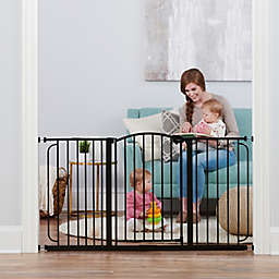 Regalo Home Accents Super Wide Safety Gate in Bronze