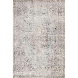 Loloi Rugs Loren 1'6 x 1' 6 Accent Rug in Silver/Slate