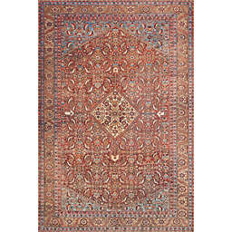 Loloi Rugs Loren Rug in Red/Multi